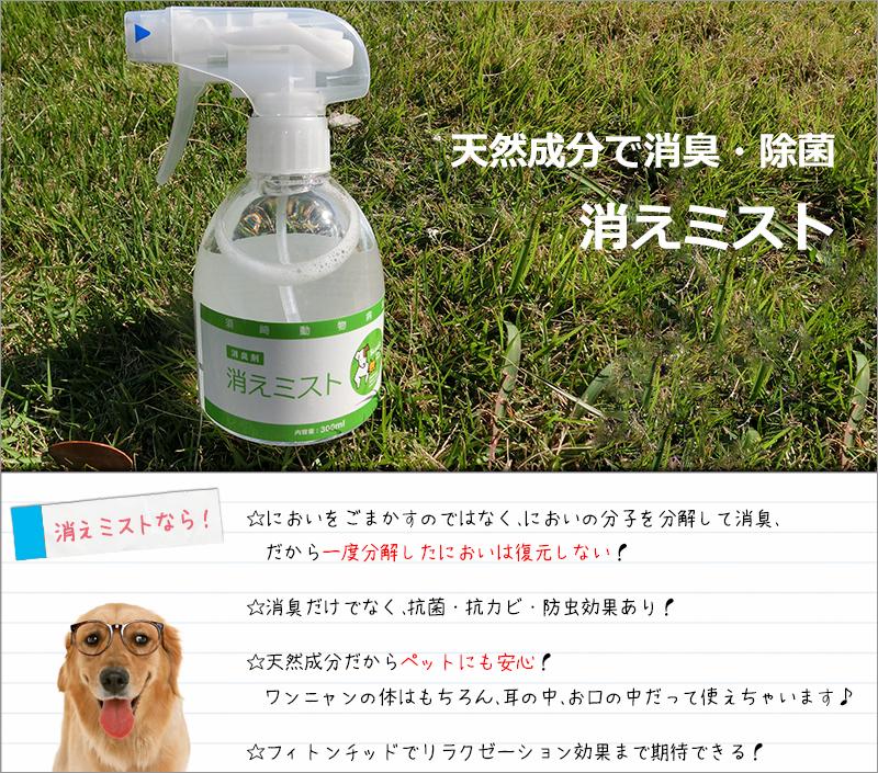 天然成分消臭・抗菌/消えミスト