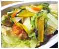 野菜たっぷり雑炊